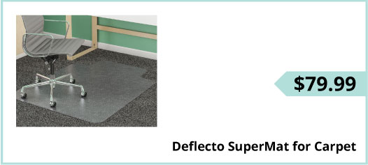 Deflecto SuperMat for Carpet, $79.99