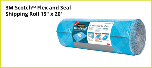 3M Scotch™ Flex and Seal Shipping Roll 15