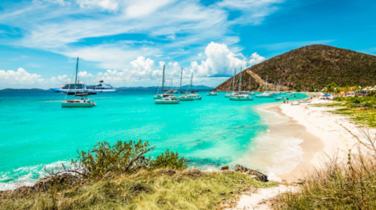 Sailing Charter Around the British Virgin Islands